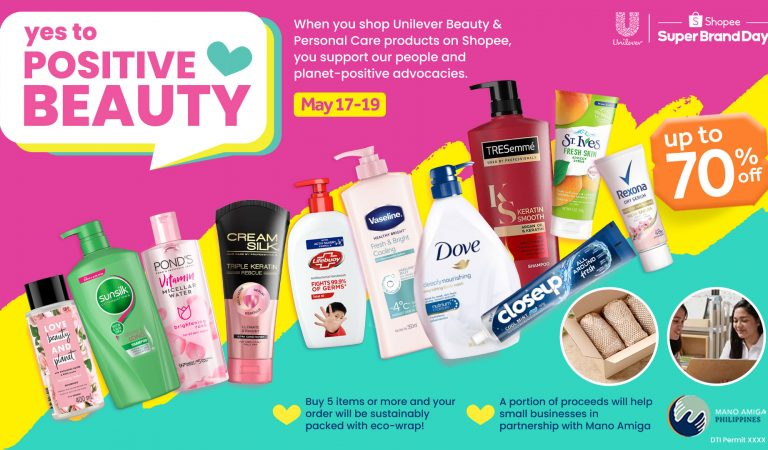 Unilever Urges Consumers to Say Yes To Positive Beauty
