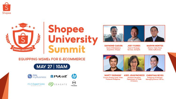 First Shopee University Summit to Equip Entreps for E-Commerce