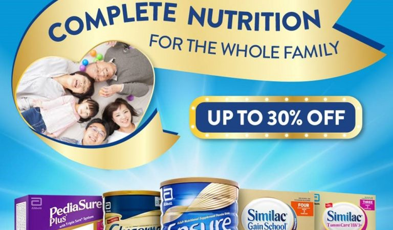 Abbott and Shopee Celebrates Nutrition For The Whole Family