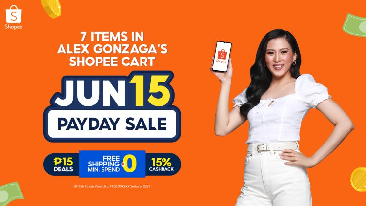 7 Shopee Payday Sale Items on Alex Gonzaga's Cart
