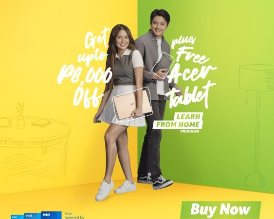 KathNiel Announces Acer's New Learn From Home Progran