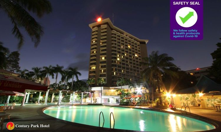 DOT Awards Century Park Hotel with Safety Seal Certification