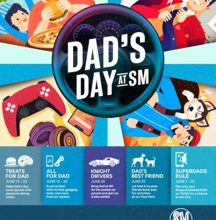 Give SuperDads the Best Father's Day Celebration at SM