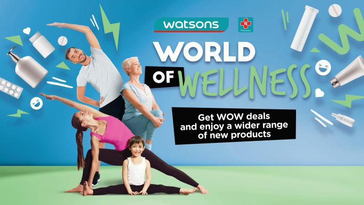 Stay Healthy and Beautiful with Watsons