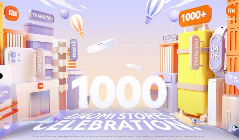 Xiaomi Celebrates Opening of its 1000th Store with Exclusive Offers