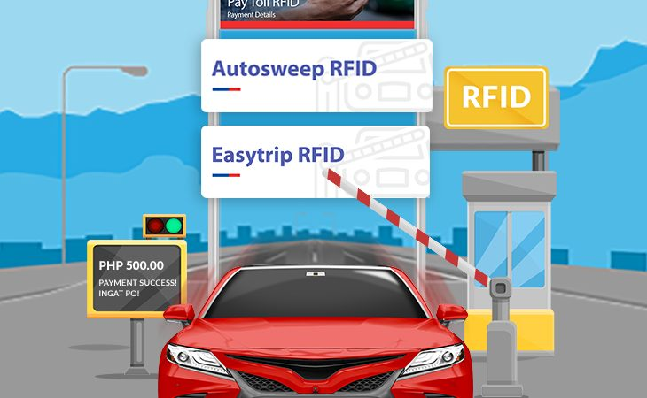 How to Reload Autosweep and Easytrip RFIDs via the PSBank App