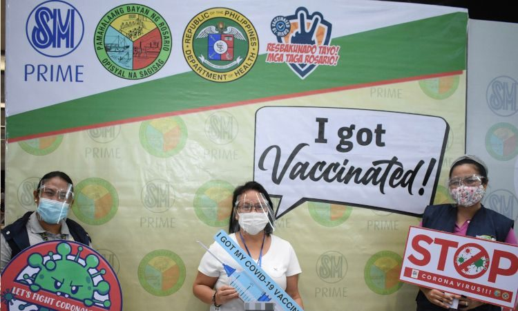 Over 500K Now Vaccinated at SM Supermalls