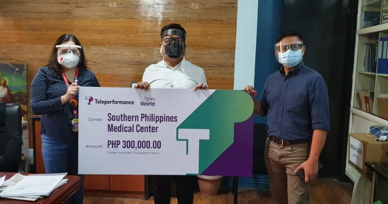 Teleperformance Sends Help to Southern Philippines Medical Center