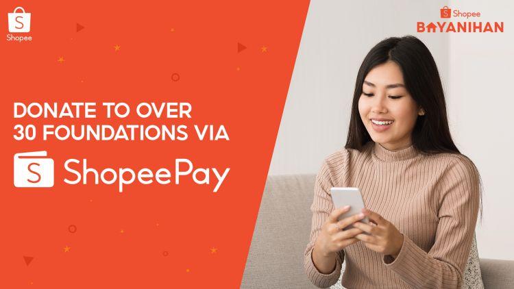 You Can Easily Send Help via ShopeePay