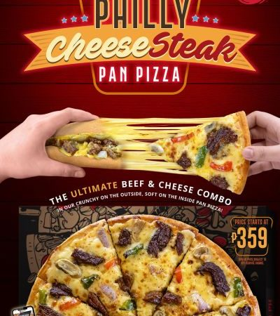 Introducing! Philly Cheesesteak Pan Pizza by Pizza Hut