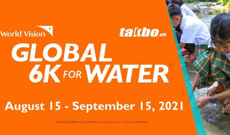 A Global 6K Virtual Run Fund Raiser for Clean Water