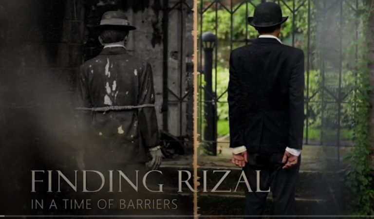 Finding Rizal in a Time of Barriers