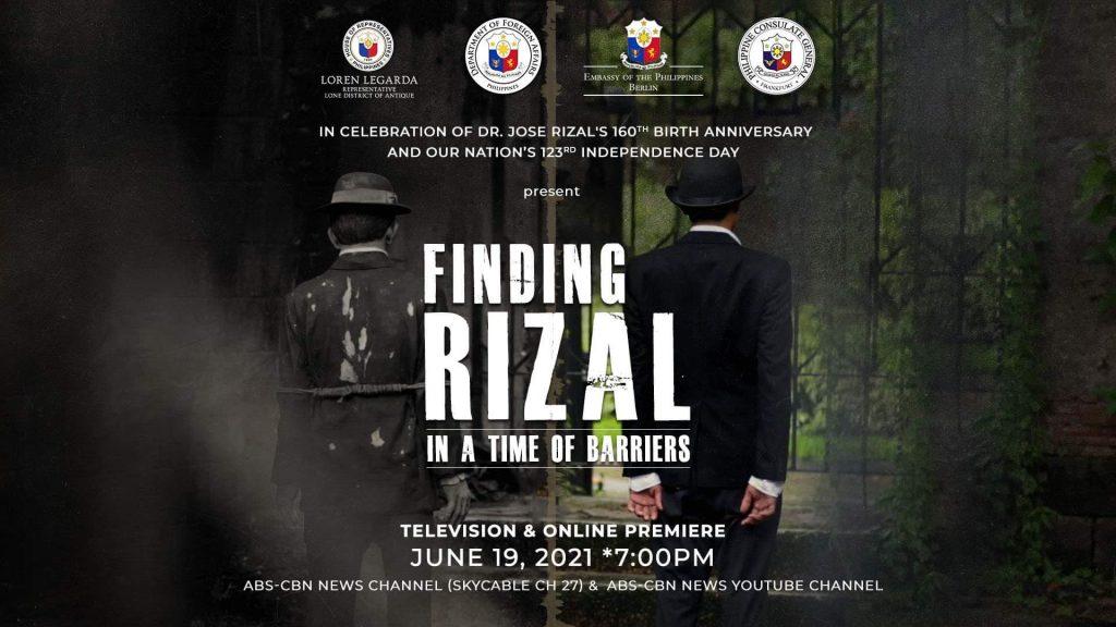 Finding Rizal