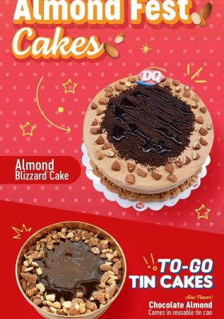 Almond Takes the Spotlight in DQ's latest Blizzard of the Month