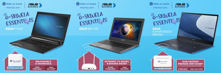 Globe at Home, ASUS to Make Online Learning More Affordable