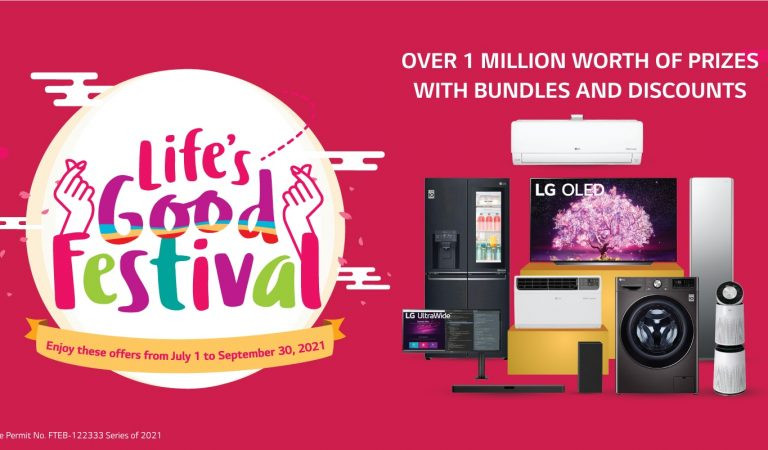 Over 1M Worth of Raffle Prizes in the First Ever LG Life's Good Festival