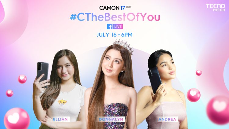 Watch the CAMON 17 Livestream Show and Win Cool Prizes!