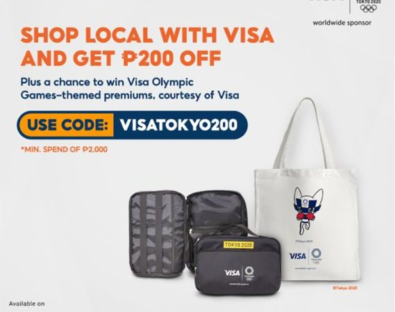 Visa Launches Olympic Games Tokyo Campaign on Shopee