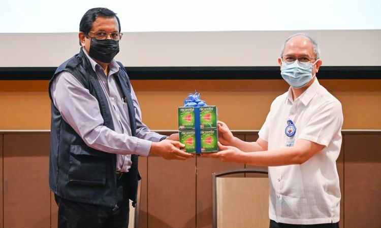 PH Receives NRT Patches Donation From WHO