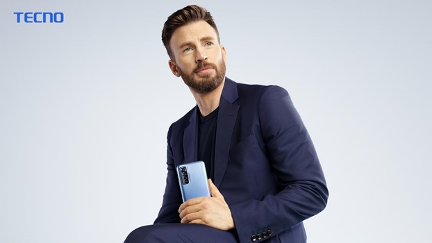 Chris Evans is the New TECNO Global Brand Ambassador
