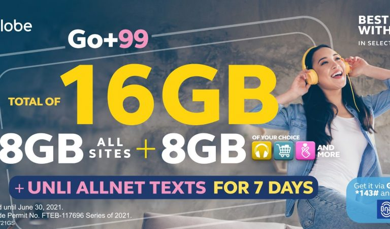 Expanded Globe GO+ Promos Empowers Subscribers