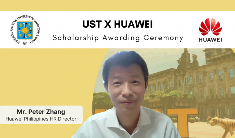 Huawei PH Welcomes First Batch of Scholars From UST