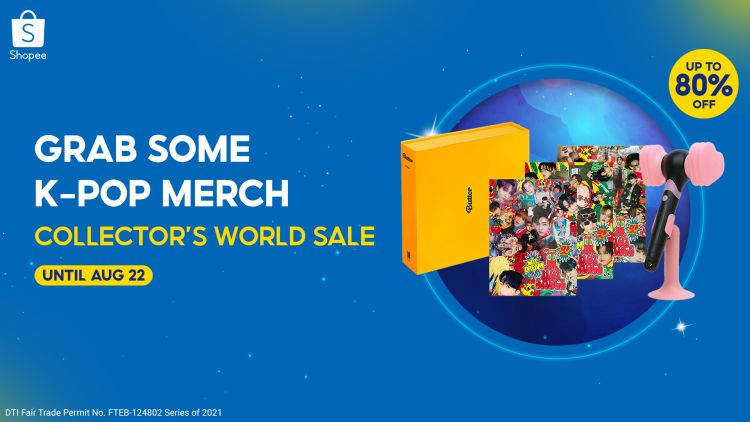 Grab Your K-Pop Merch at the Shopee Collector's World Sale