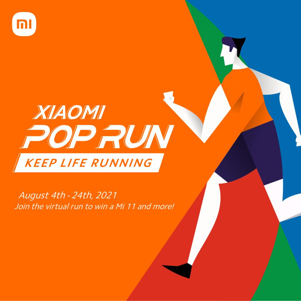 Xiaomi Virtual Pop Run 2021