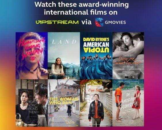Now Streaming! Award-Winning Films on UPSTREAM via GMovies