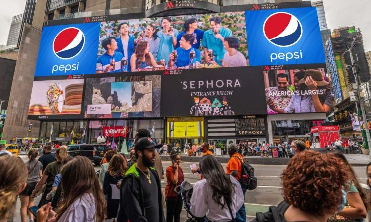 KathNiel, SB19 Pepsi Billboards a Big Hit in New York and Downtown LA