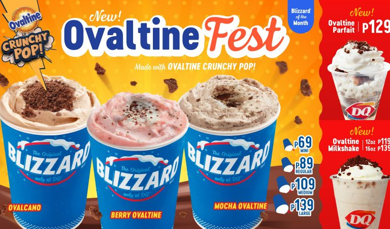 Limited-Edition Ovaltine Treats Now Available at Dairy Queen