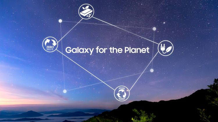 Samsung Sustainability Vision: Galaxy For The Planet