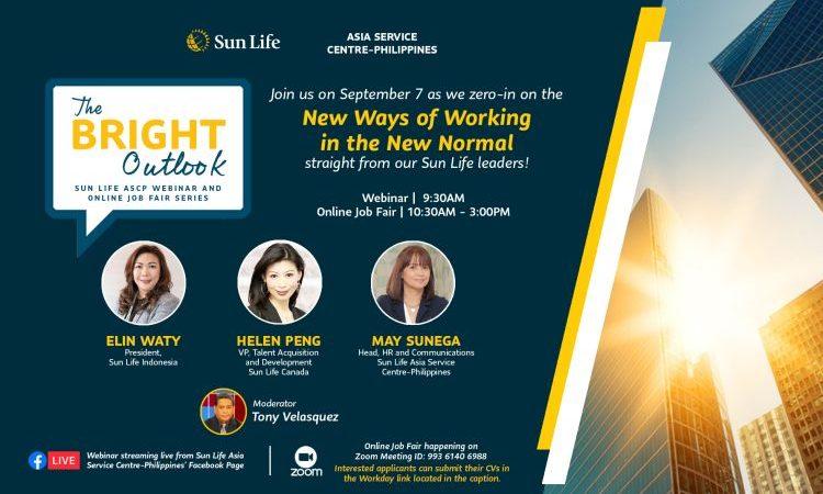 Sun Life Launches First-Ever Webinar and Online Job Fair