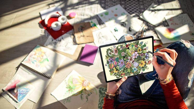 How Galaxy TabS7 FE Boost Productivity and Creativity
