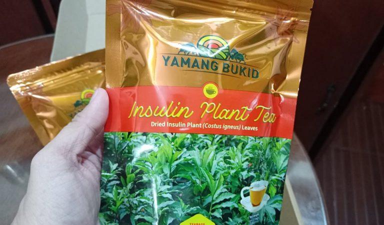 Yamang Bukid Introduces Insulin Plant Tea