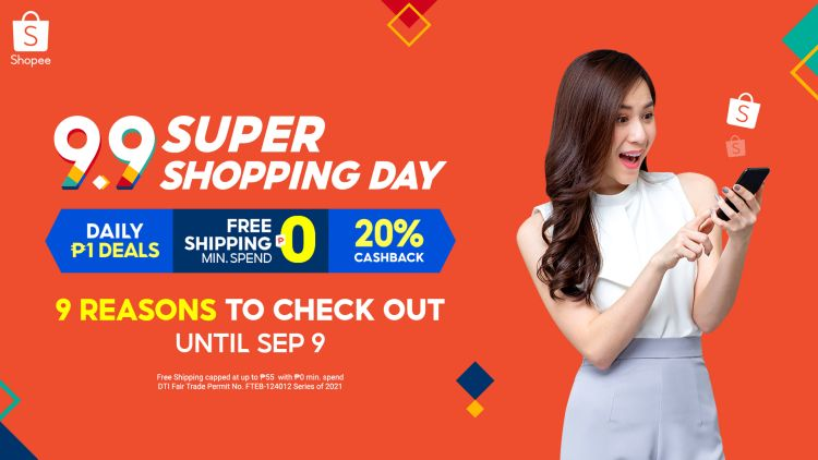 9 Reasons to Check Out Shopee 9.9 Super Shopping Day