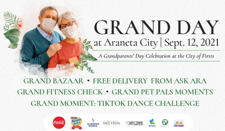 Araneta City Prepares Fun Surprises for Grandparents Day