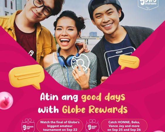 Globe G Music Fest & G Legends Cup is Powered by FoodPanda