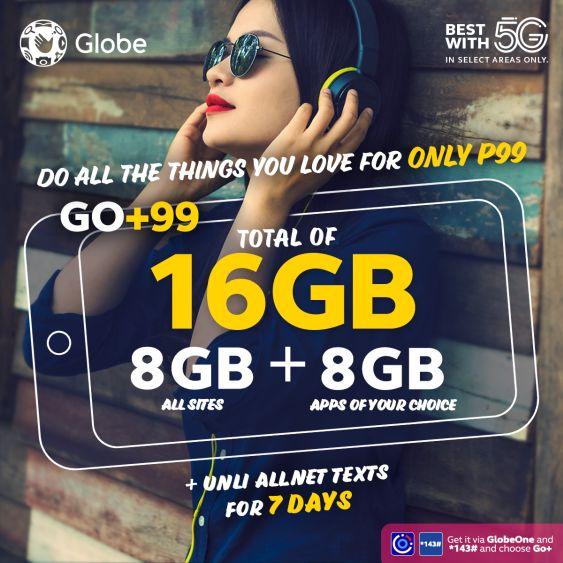 Globe GO+