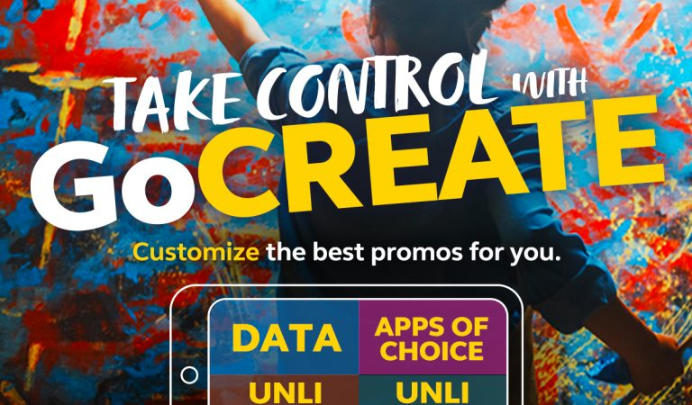 GoCREATE Your Own Promo with Globe Prepaid
