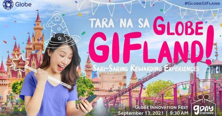 Fun and Surprises Awaits Globe Customers at GIFLand