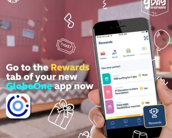 Globe Launches the All New GlobeOne Super App