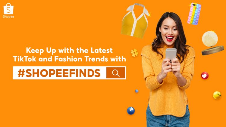 Latest TikTok and Fashion Trends on Shopee Finds