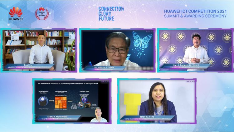 UE and STI Win at Huawei ICT Competition Philippines 2021