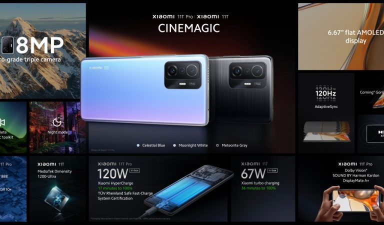 Xiaomi Introduces Three New Addition to the Xiaomi 11 Family