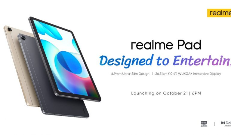 realme Pad and Other TechLife Products is Set to Launch in PH