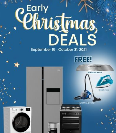 The Beko Early Christmas Sale in October