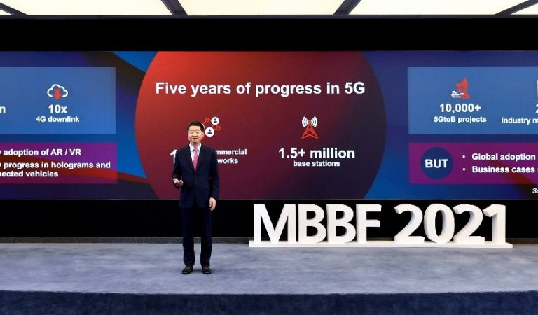 Huawei Calls on ICT Industry to Work Together on Next Stage of 5G Development